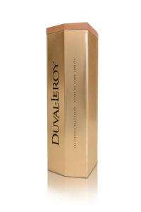 Champagne Duval-Leroy Précieuses parcelles en coffret cadeaux d'affaire luxe contemporain