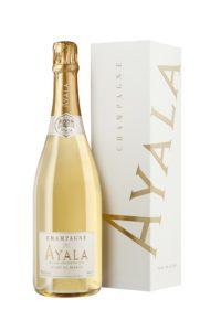 Champagne Ayala Brut Blanc de blancs millésimé 75 cl en étui