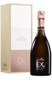 Champagne Jacquart Cuvée Alpha Rosé vintage 2010