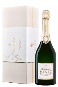 Champagne Deutz Blanc de blancs millésimé Brut en coffret