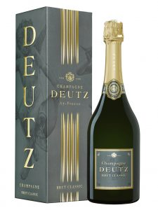 Champagne Deutz Brut Classic en étui Bayadère