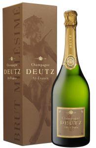 Champagne Deutz millésimé Brut en étui