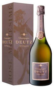 Champagne Deutz Rosé millésimé Brut en étui