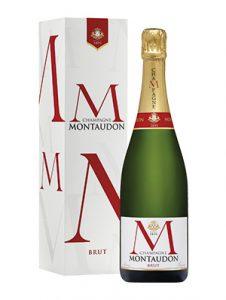 Champagne Montaudon Brut réserve Première en étui 75 cl