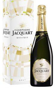 Champagne Jacquart Brut Mosaïque en étui 75 cl