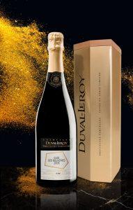 Champagne Duval-Leroy Précieuses parcelles Clos des Bouveries millésime 2006 en coffret