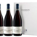 Vins de Bourgogne DOMAINE CHANSON Coffret cadeau de 3 Bouteilles