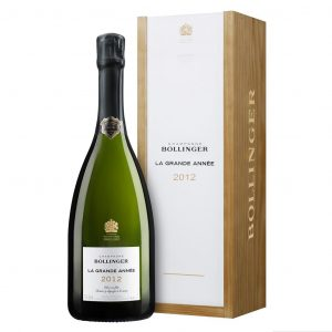 Champagne Bollinger La Grande année 2012 en coffret