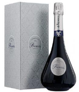 Champagne de Venoge Prince Extra Brut en étui 75 cl