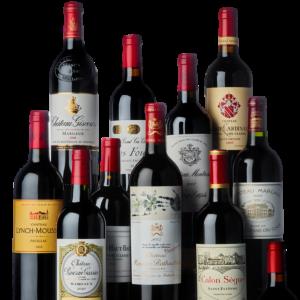 Grands Crus Classés de vin de Bordeaux - A. de Luze